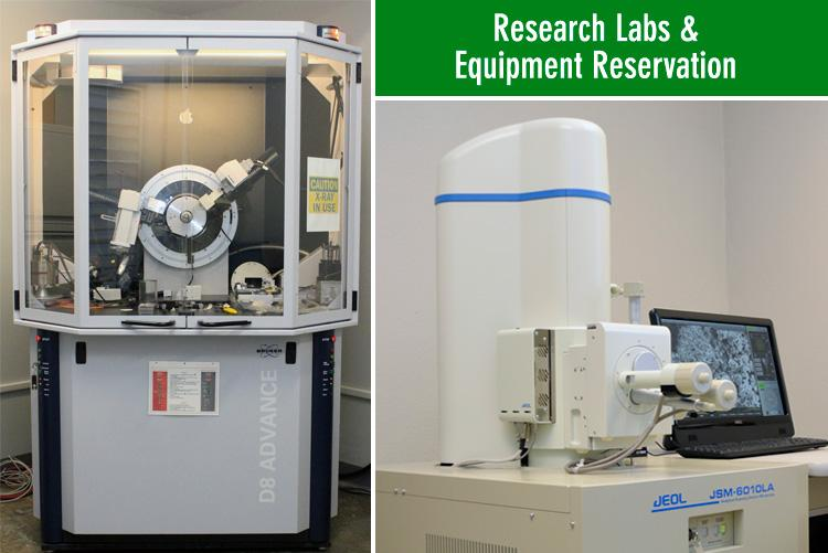 Reserach Labs & Equipment Reservation