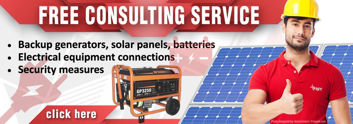 Free Consulting Services for Energy Systems for Your Home or Business