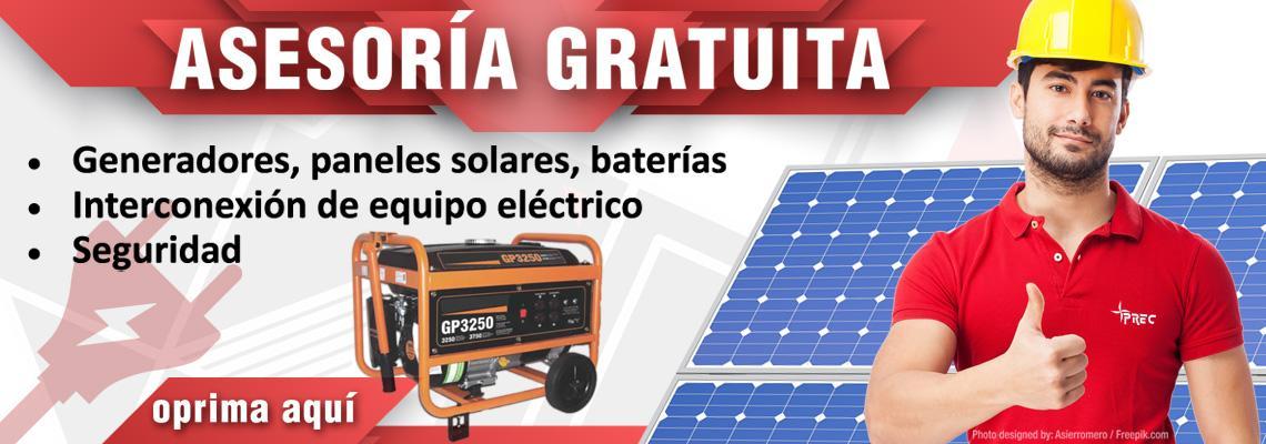 Asesorías gratuitas sobre sistemas energéticos